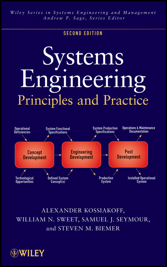 Alexander Kossiakoff Systems Engineering Principles and Practice eric rebentisch integrating program management and systems engineering methods tools and organizational systems for improving performance