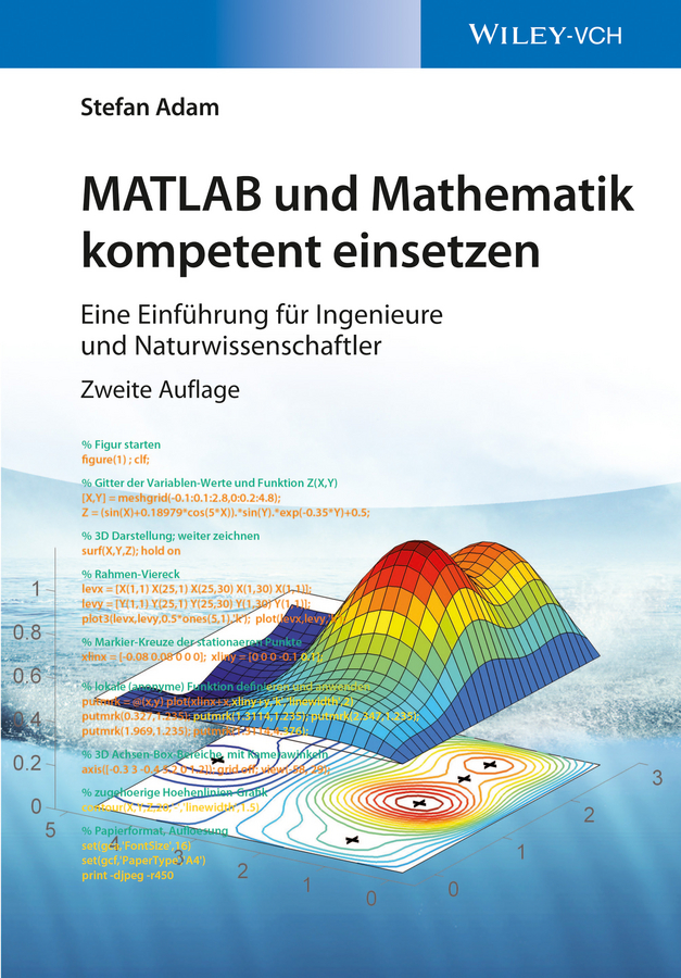 Stefan Adam MATLAB und Mathematik kompetent einsetzen. Eine Einführung für Ingenieure und Naturwissenschaftler das jahr das zwei sekunden brauchte