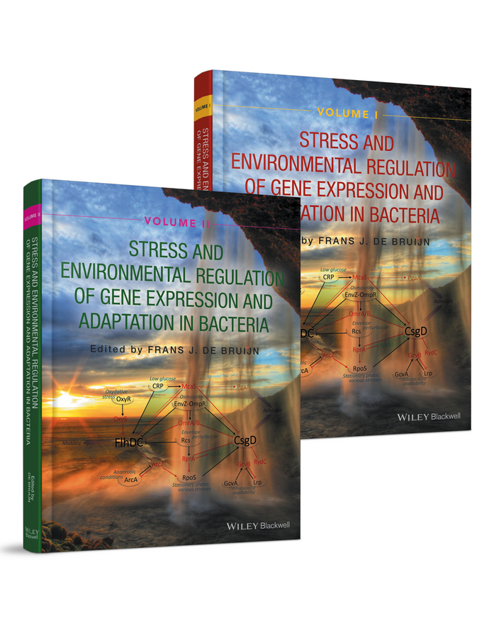 Frans Bruijn J.de Stress and Environmental Regulation of Gene Expression and Adaptation in Bacteria, 2 Volume Set цена