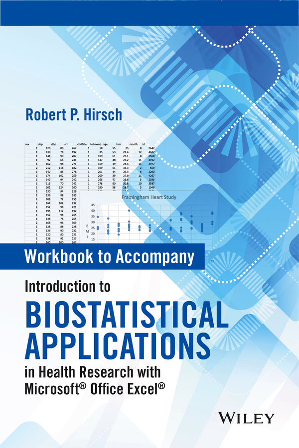 Robert Hirsch P. Workbook to Accompany Introduction to Biostatistical Applications in Health Research with Microsoft Office Excel pursuing health equity in low income countries