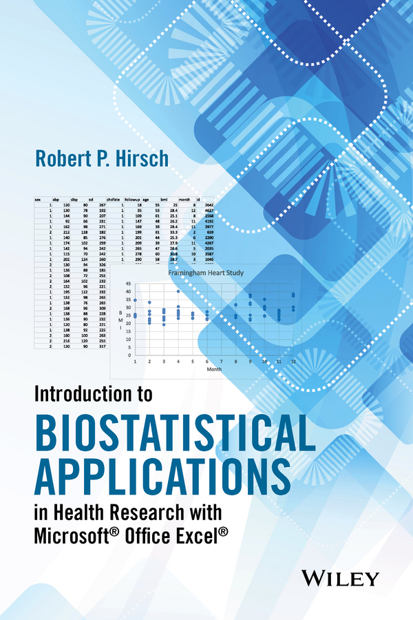 Robert Hirsch P. Introduction to Biostatistical Applications in Health Research with Microsoft Office Excel stefan g hofmann an introduction to modern cbt psychological solutions to mental health problems