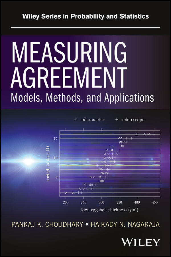 Haikady Nagaraja N. Measuring Agreement. Models, Methods, and Applications hae soo kwak nano and microencapsulation for foods