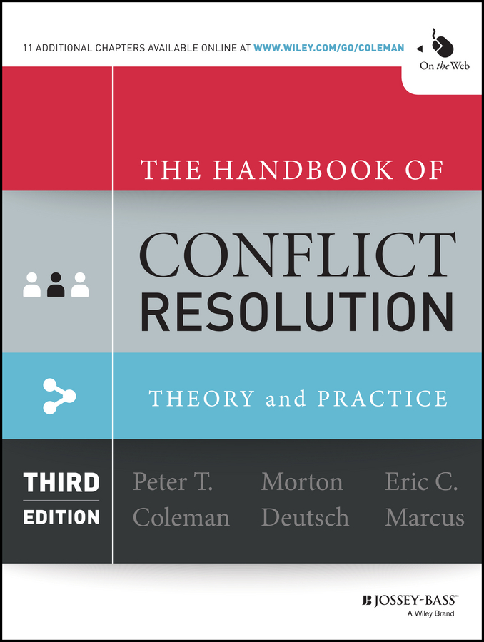 Morton Deutsch The Handbook of Conflict Resolution. Theory and Practice the recipe writer s handbook