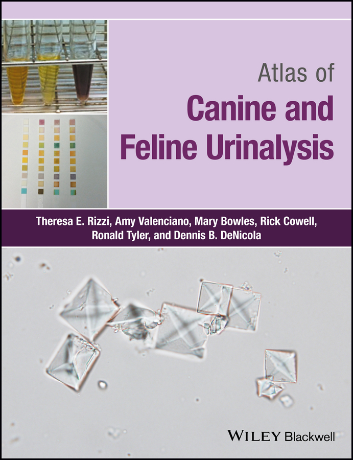 Rick Cowell Atlas of Canine and Feline Urinalysis недорого