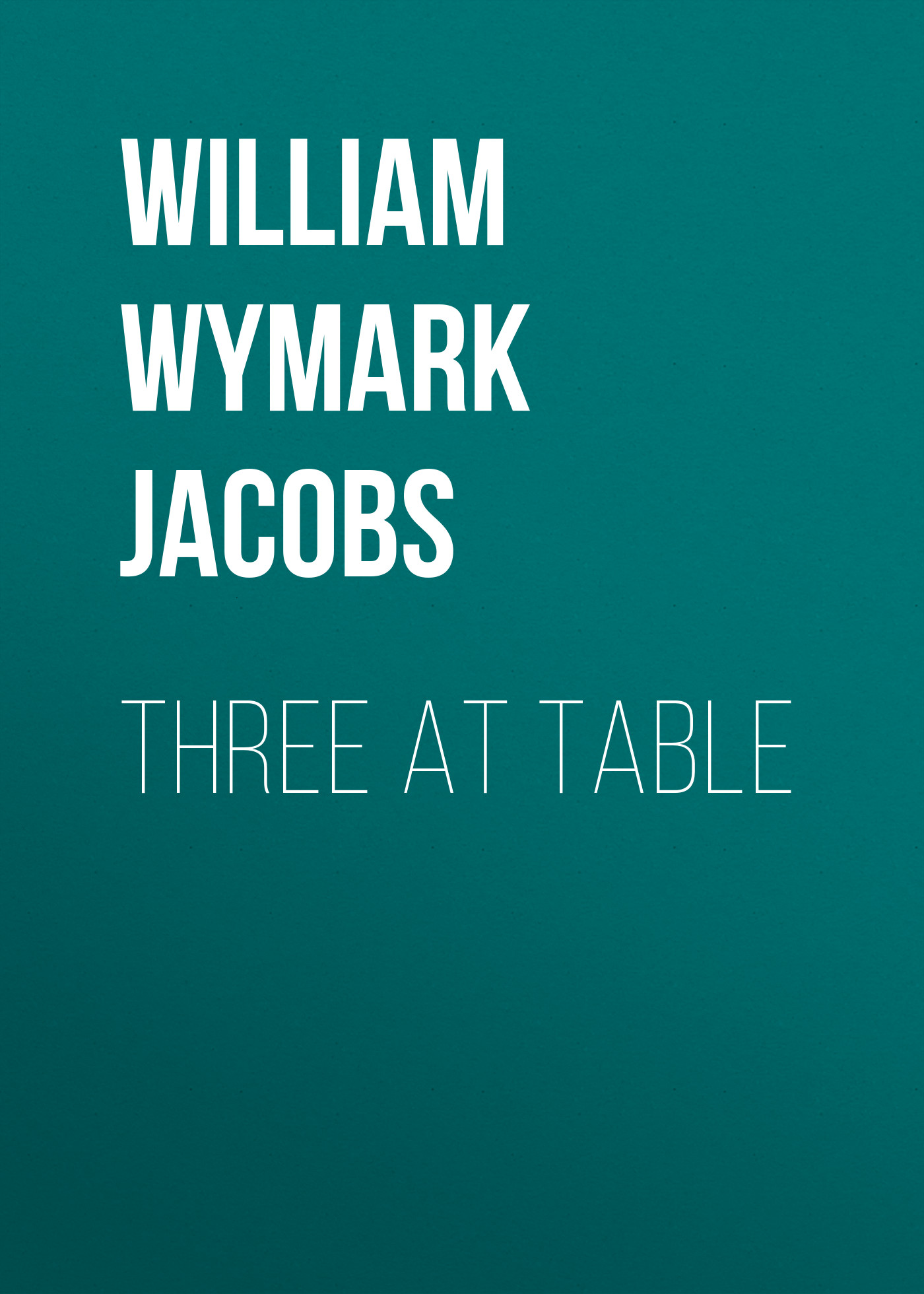 William Wymark Jacobs Three at Table three phase lcd digital panel ammeter voltmeter ampermeter combination table