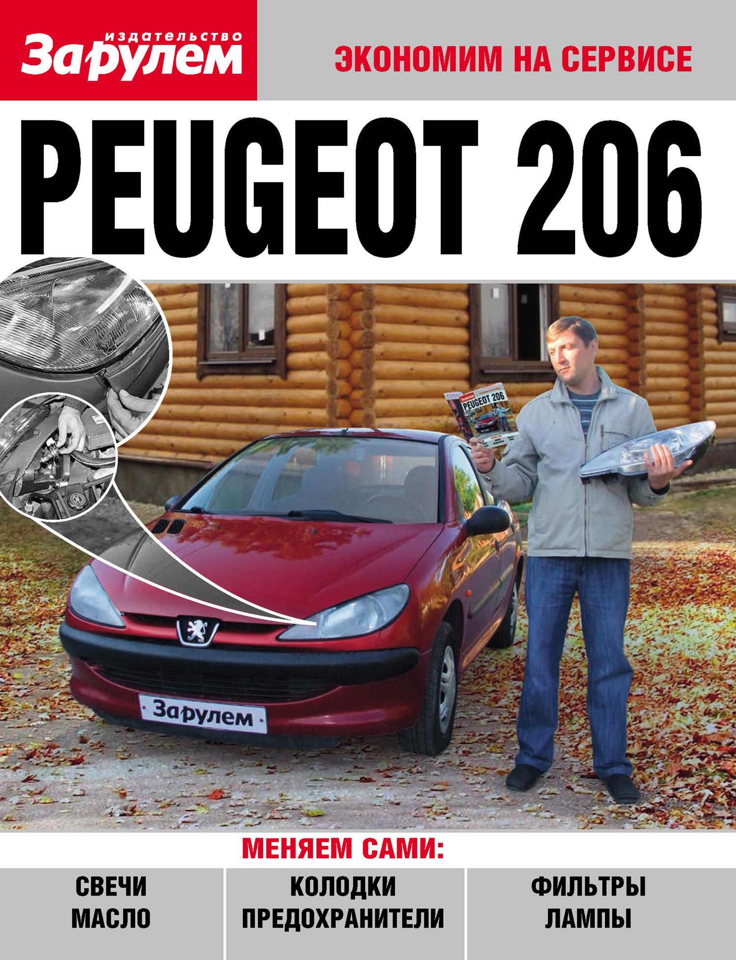 Отсутствует Peugeot 206
