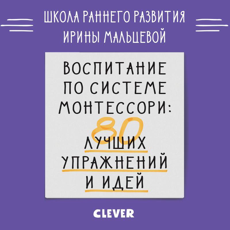 Ирина Мальцева Воспитание по системе Монтессори. 80 лучших упражнений и идей цены онлайн