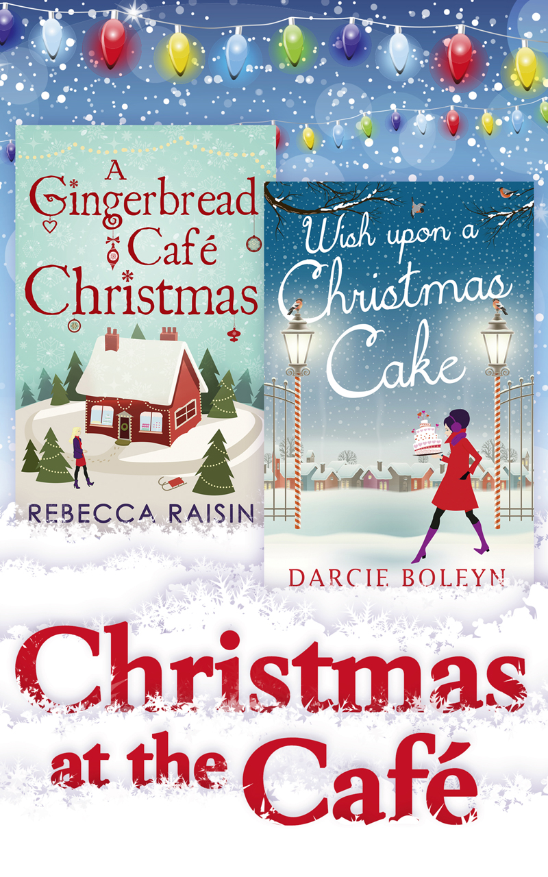 Rebecca Raisin Christmas At The Café: Christmas at the Gingerbread Café / Chocolate Dreams at the Gingerbread Cafe / Christmas Wedding at the Gingerbread Café / Wish Upon a Christmas Cake diy christmas tree shaped cake biscuit food mold white size s m l