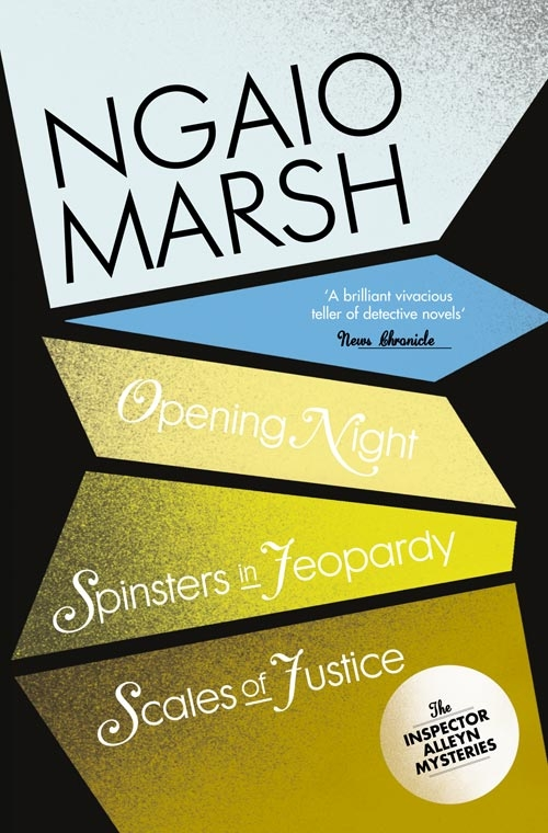 лучшая цена Ngaio Marsh Inspector Alleyn 3-Book Collection 6: Opening Night, Spinsters in Jeopardy, Scales of Justice
