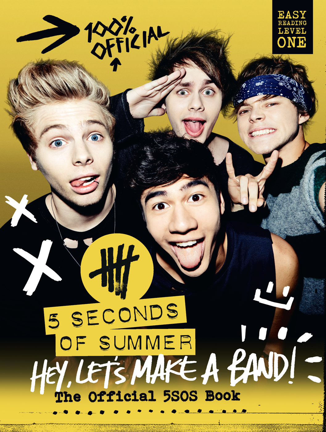 Коллектив авторов 5 Seconds of Summer: Hey, Let's Make a Band!: The Official 5SOS Book 5 seconds of summer 5sos amsterdam