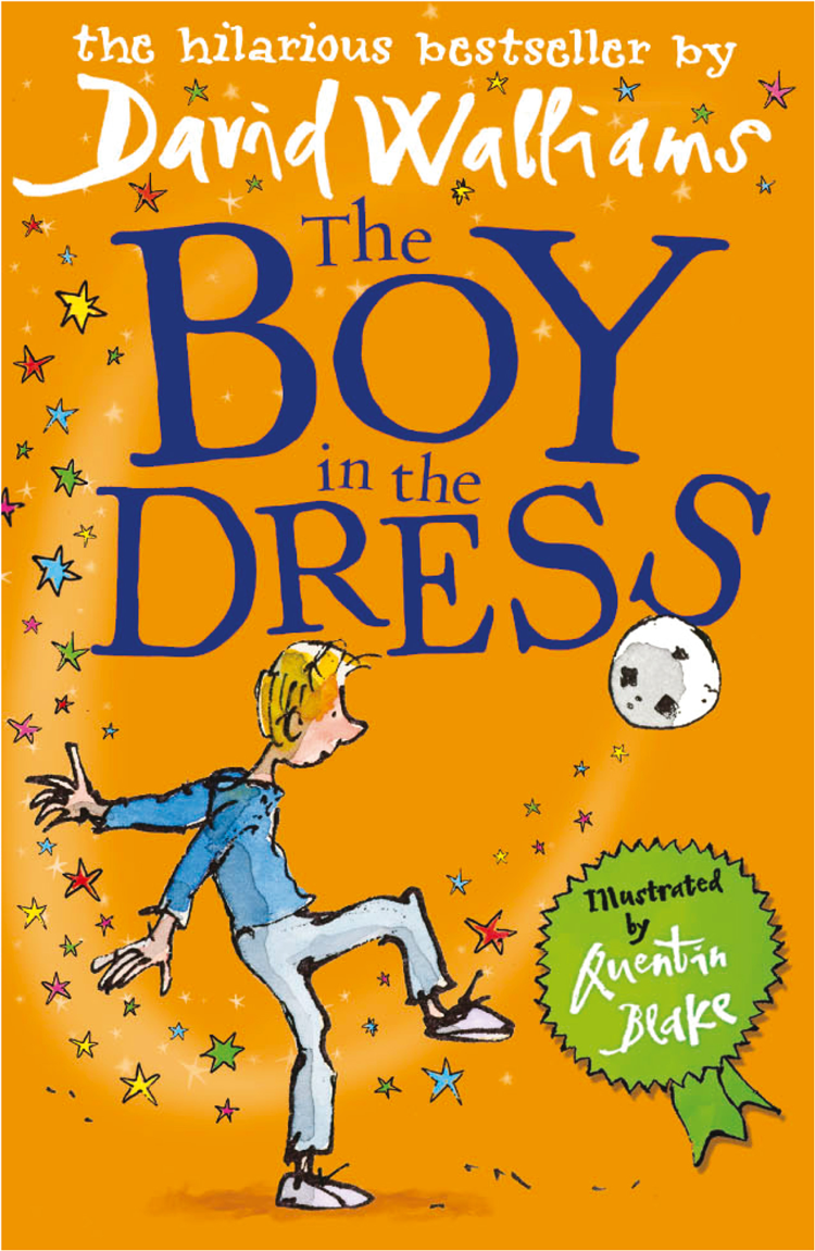 Quentin Blake The Boy in the Dress the boy in the snow