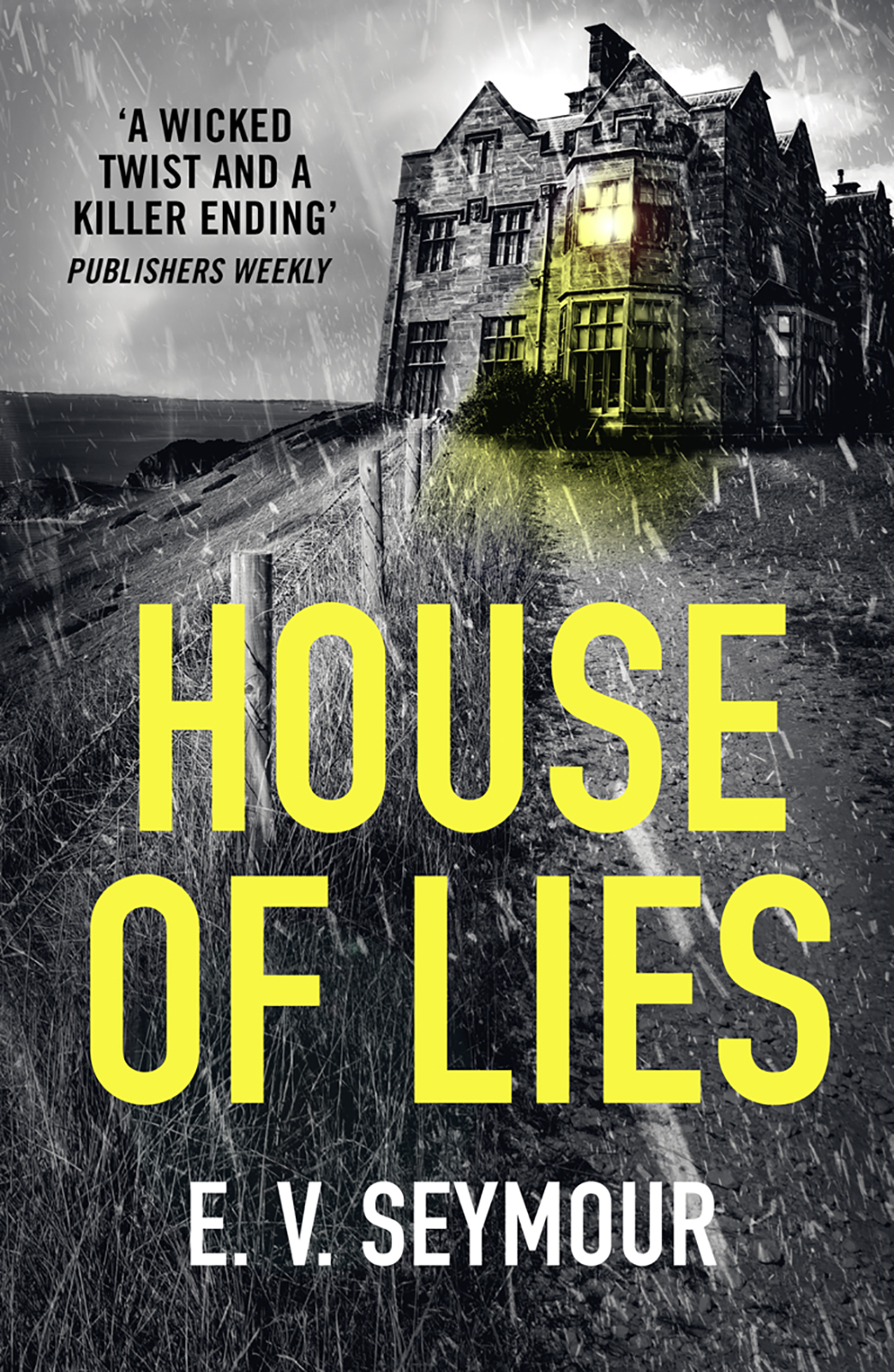 E. Seymour V. House of Lies: A gripping thriller with a shocking twist цена и фото