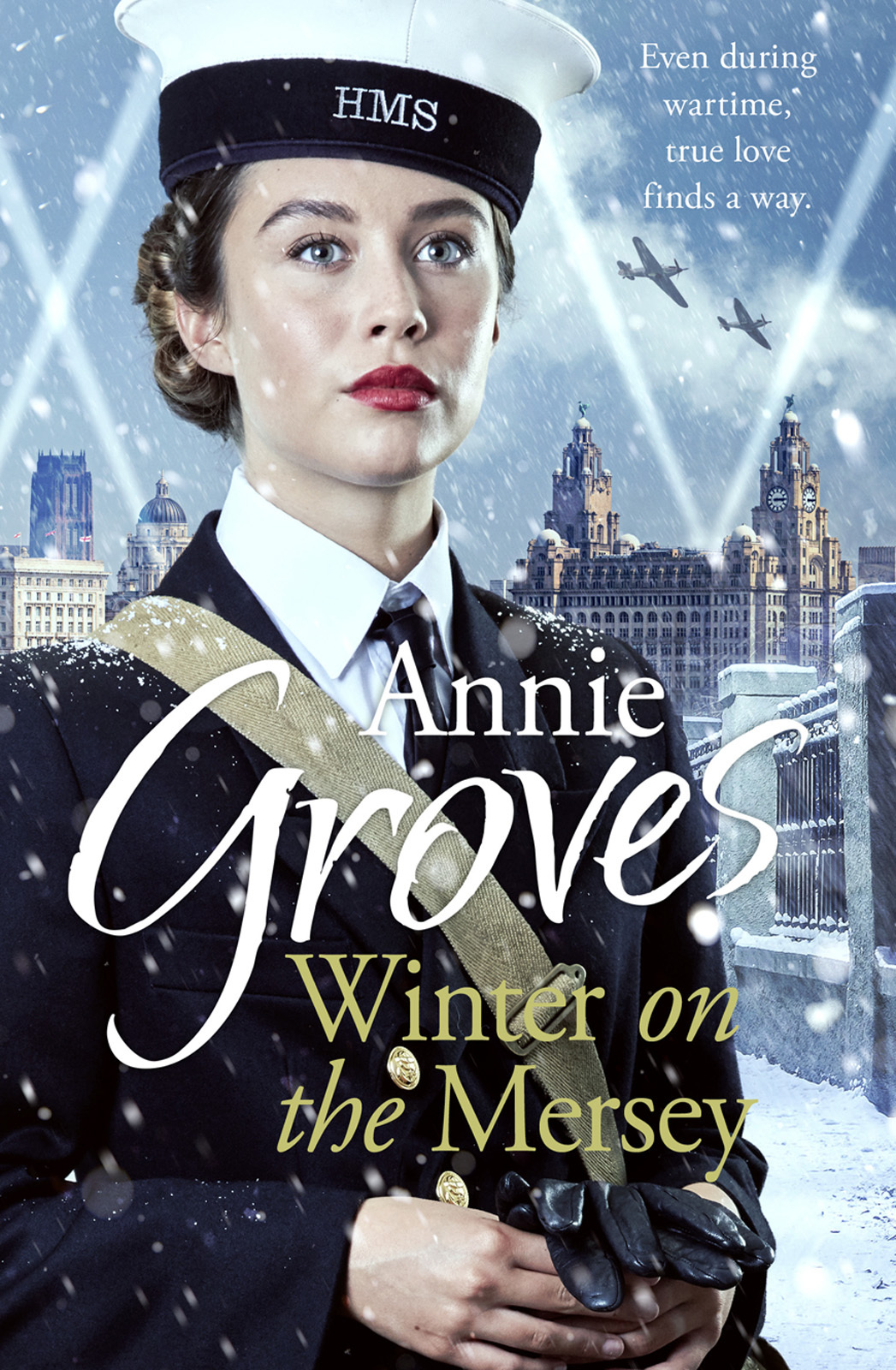 Annie Groves Winter on the Mersey: A Heartwarming Christmas Saga annie groves london belles