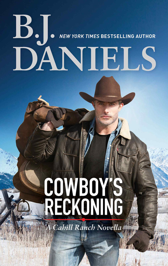 B.J. Daniels Cowboy's Reckoning the black reckoning