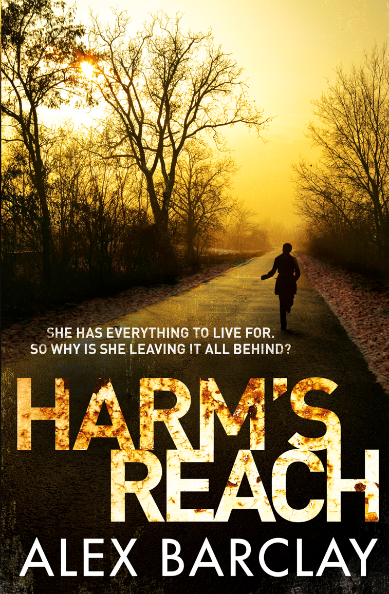 Alex Barclay Harm's Reach bryce o connor child of the daystar