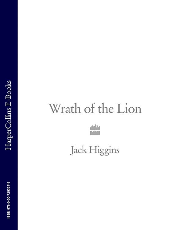 Jack Higgins Wrath of the Lion