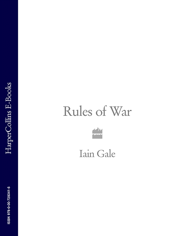 Iain Gale Rules of War avon gale save of the game