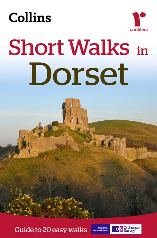 Collins Maps Short Walks in Dorset great maps