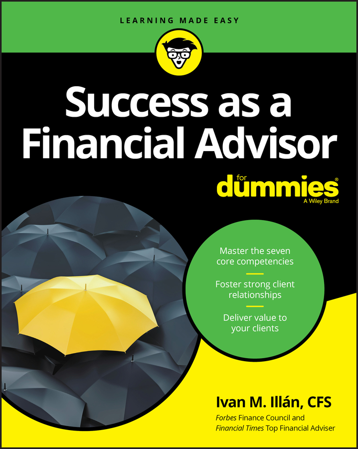 Ivan Illan M. Success as a Financial Advisor For Dummies lubricants as a tool of success