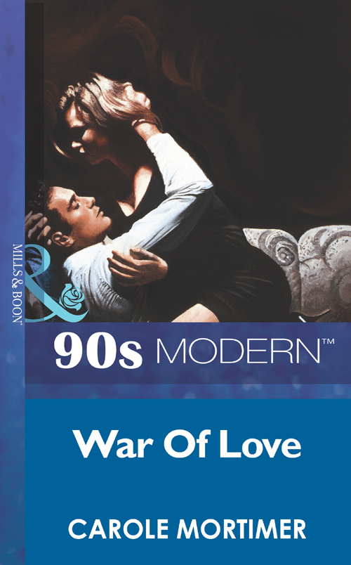 Carole Mortimer War Of Love brad burton life business just got easier