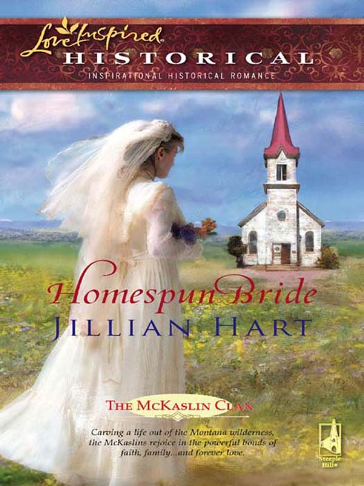 Jillian Hart Homespun Bride a new lease of death