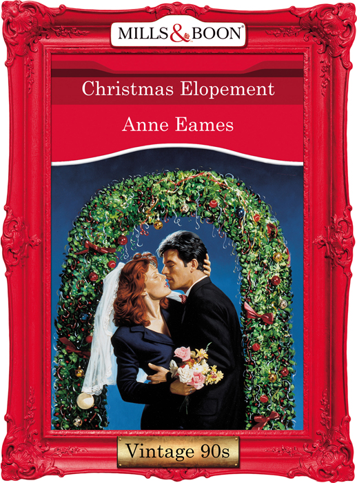 Anne Eames Christmas Elopement lucy gordon the final falcon says i do