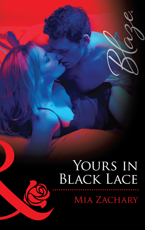 Mia Zachary Yours In Black Lace yours mine