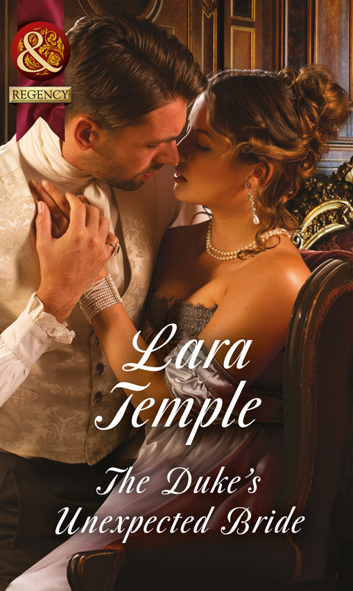 Lara Temple The Duke's Unexpected Bride bride of the high country