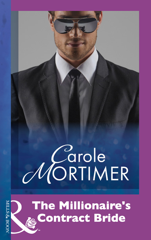 Carole Mortimer The Millionaire's Contract Bride carole mortimer the millionaire s contract bride