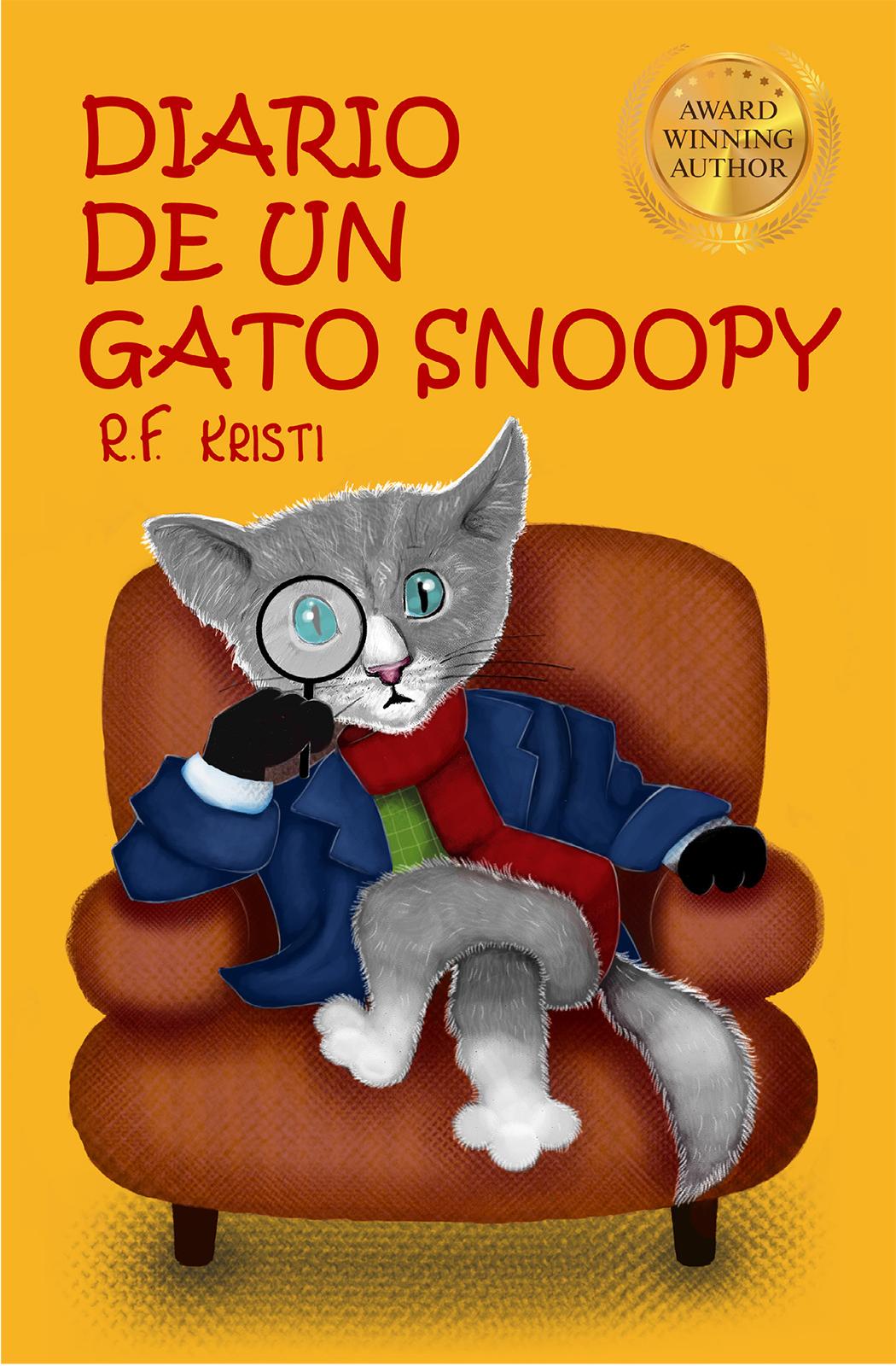 R.F. Kristi Diario De Un Gato Snoopy