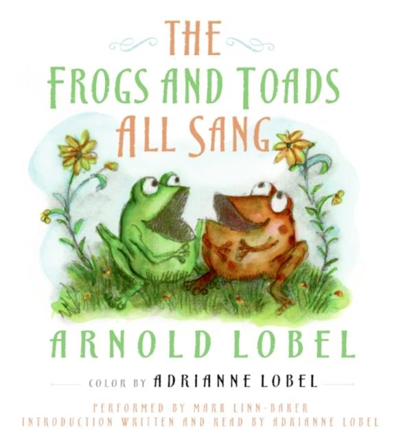 Arnold Lobel Frogs and Toads All Sang miroir de sang