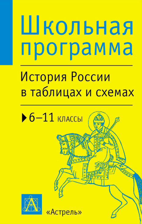 П. А. Баранов История России в таблицах и схемах. 6-11 классы