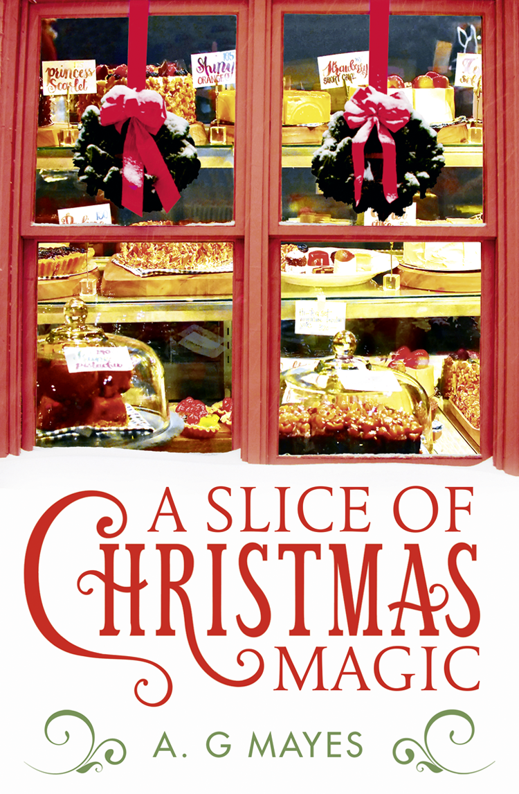 a dog for christmas A. Mayes G. A Slice of Christmas Magic