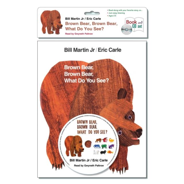Jr. Bill Martin Brown Bear, Brown Bear, What Do You See? printio bear dangerous brown