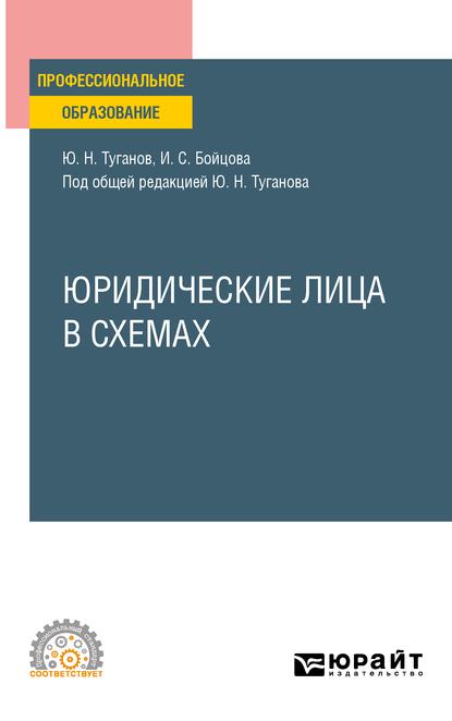 Юридические лица в схемах. Учебное пособие для СПО ( Юрий Николаевич Туганов  )
