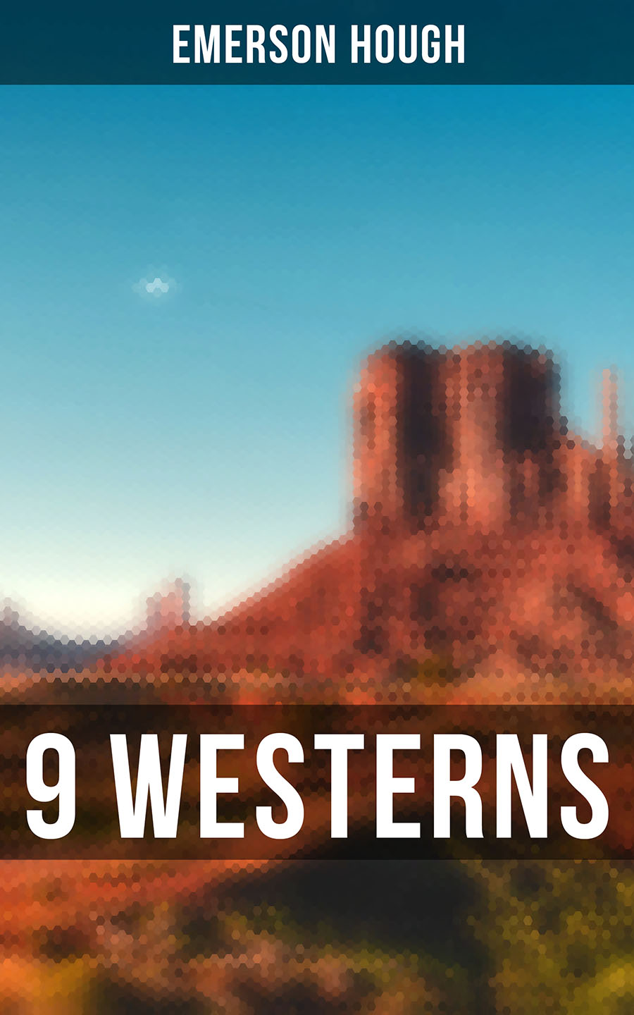 Emerson Hough 9 WESTERNS: The Law of the Land, The Way of a Man, Heart's Desire, The Covered Wagon, 54-40 or Fight, The Man Next Door, The Magnificent Adventure, The Sagebrusher and more missy tippens the guy next door