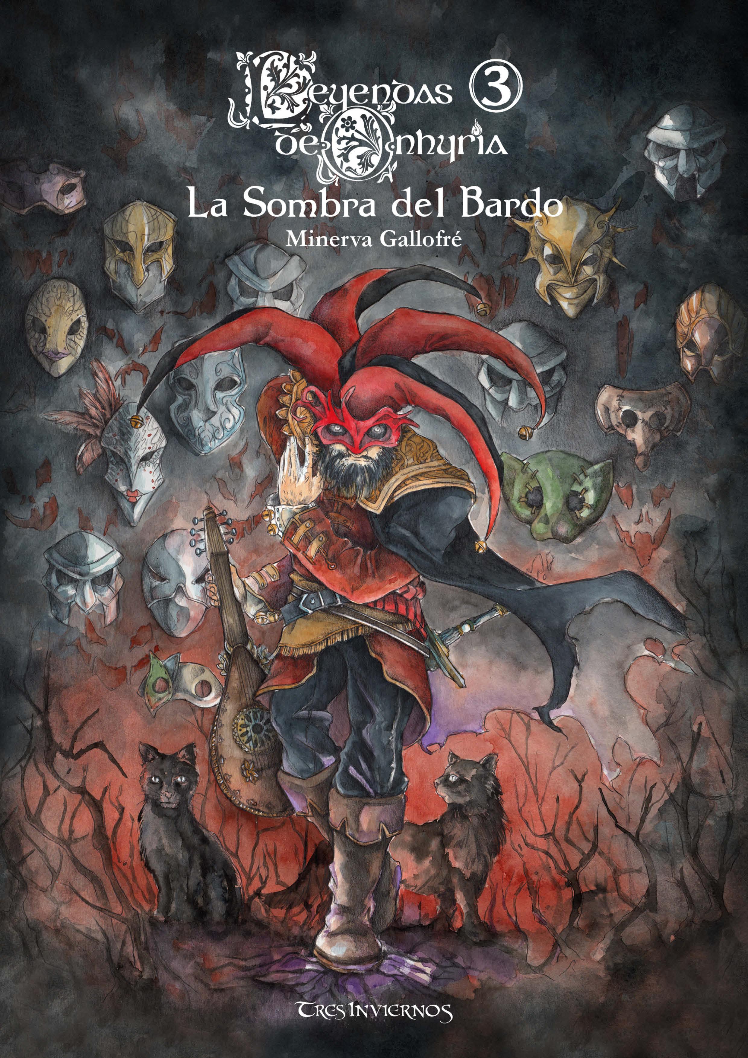 Minerva Gallofré Leyendas de Onhyria 3: La Sombra del Bardo bardo