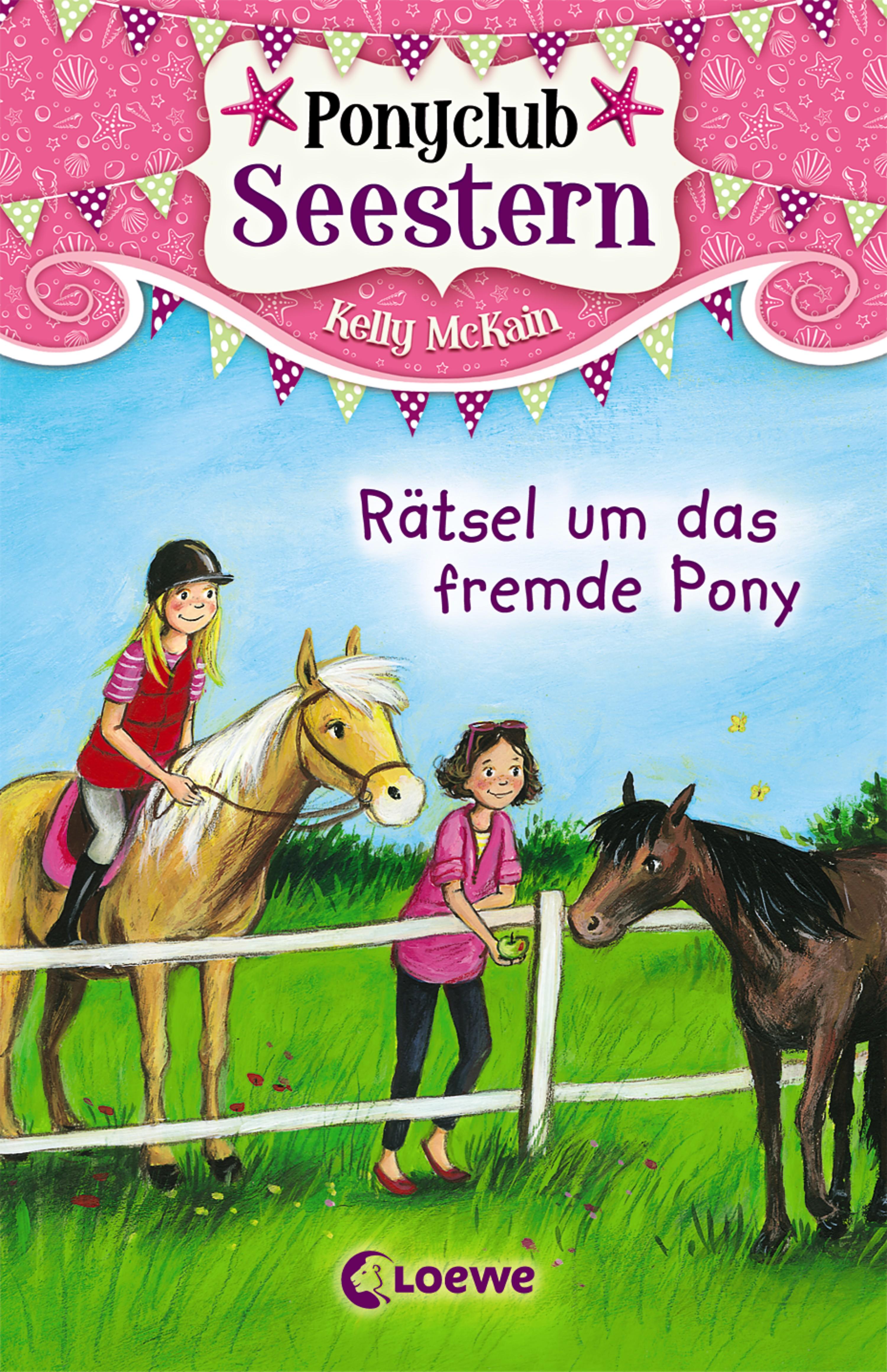 Kelly McKain Ponyclub Seestern 3 - Rätsel um das fremde Pony