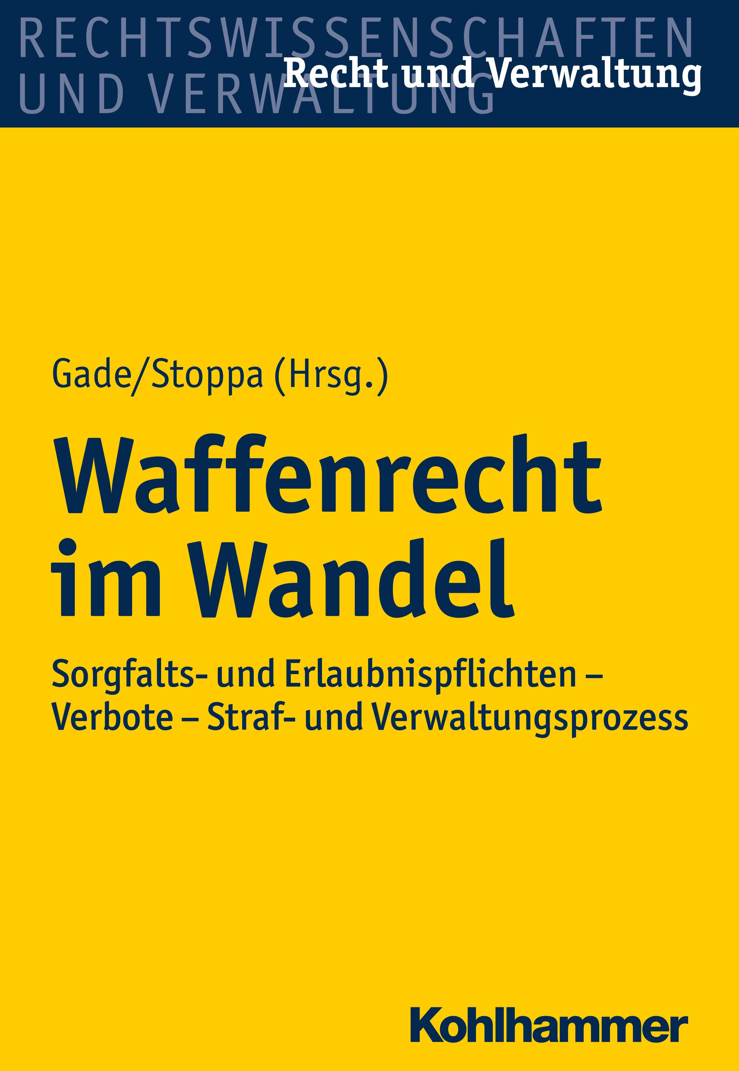 Отсутствует Waffenrecht im Wandel