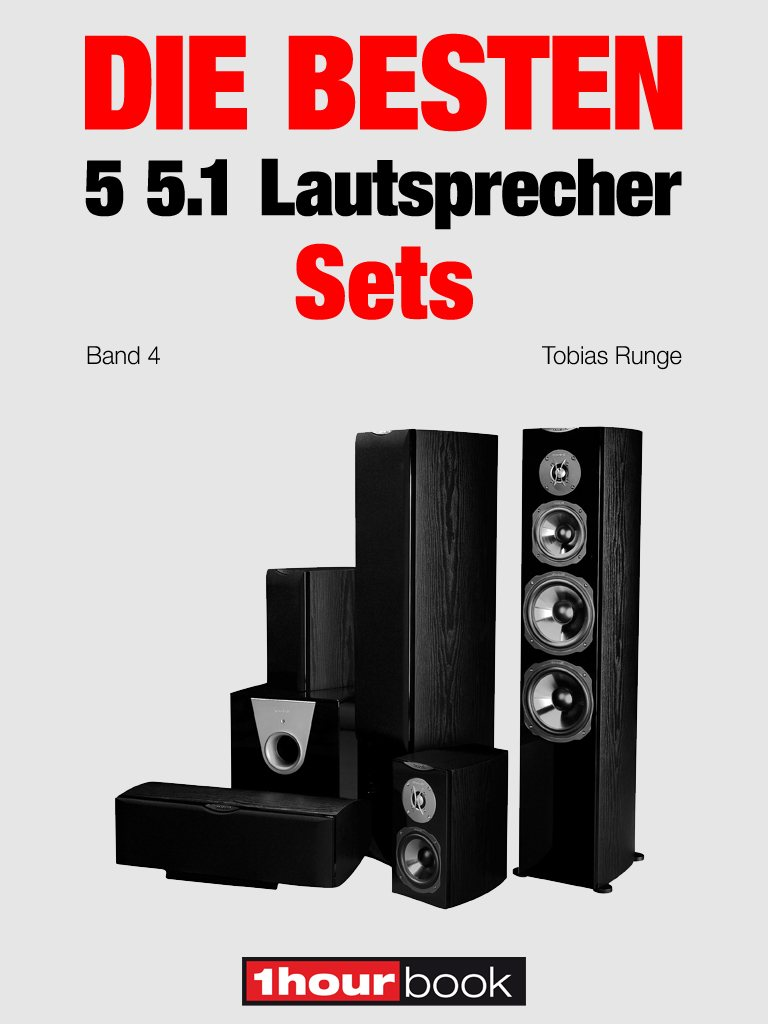 Roman Maier Die besten 5 5.1-Lautsprecher-Sets (Band 4) roman maier die besten 5 multimedia lautsprecher
