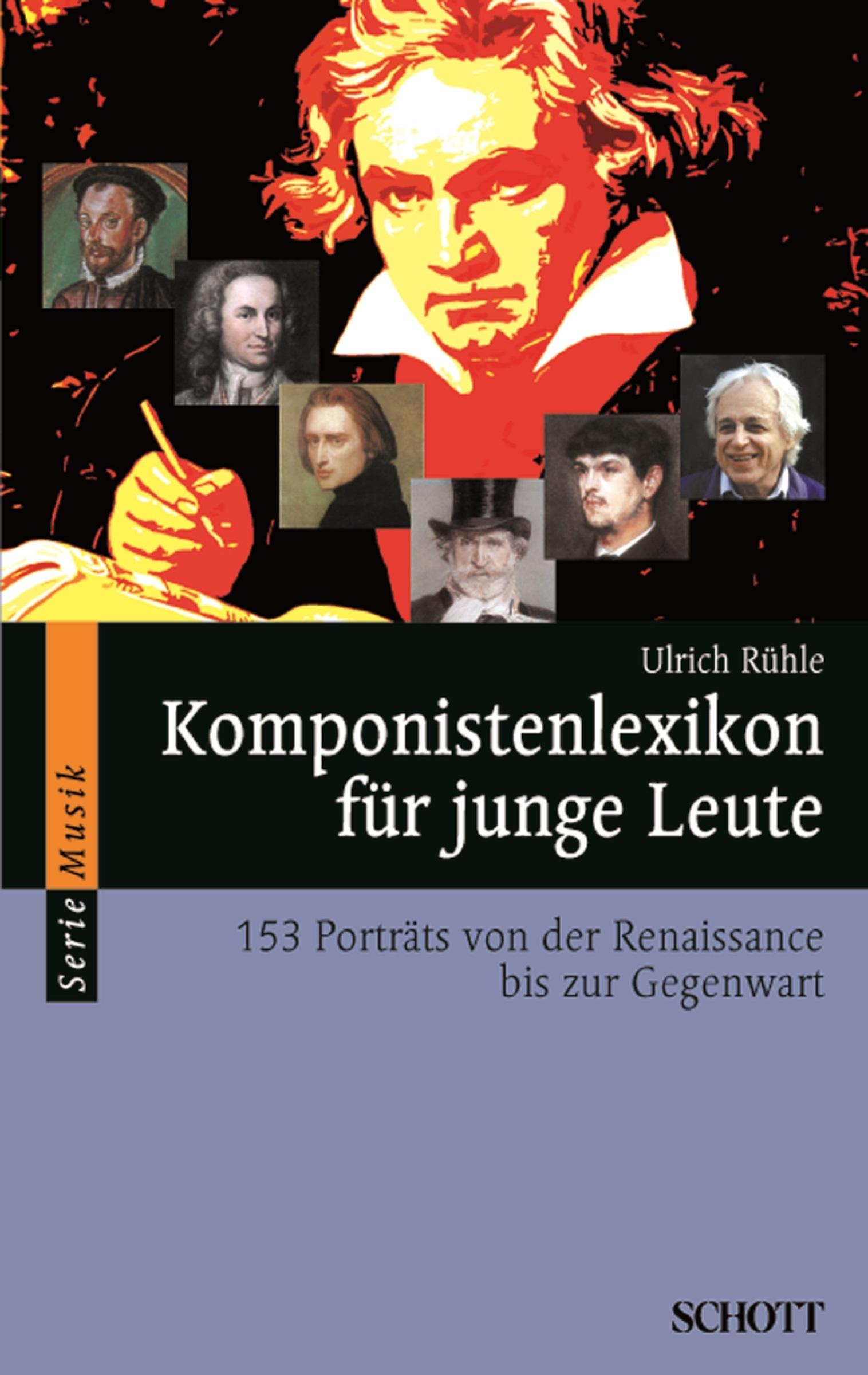 Ulrich Ruhle Komponistenlexikon für junge Leute kleider machen leute