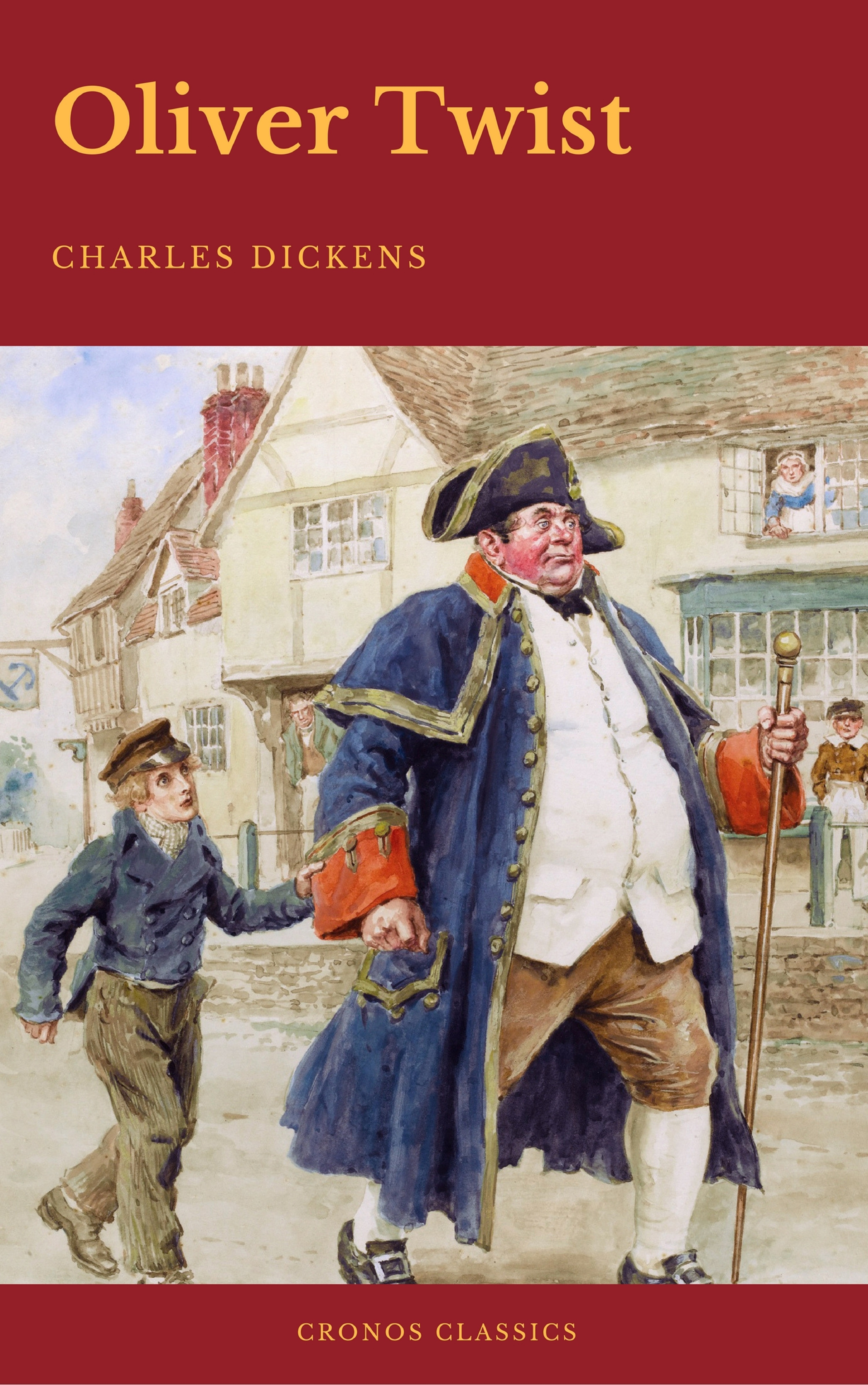 Charles Dickens Oliver Twist (Cronos Classics) charles dickens barnaby rudge cronos classics
