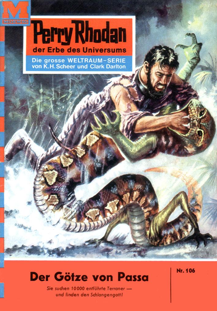Kurt Mahr Perry Rhodan 106: Der Götze von Passa все цены