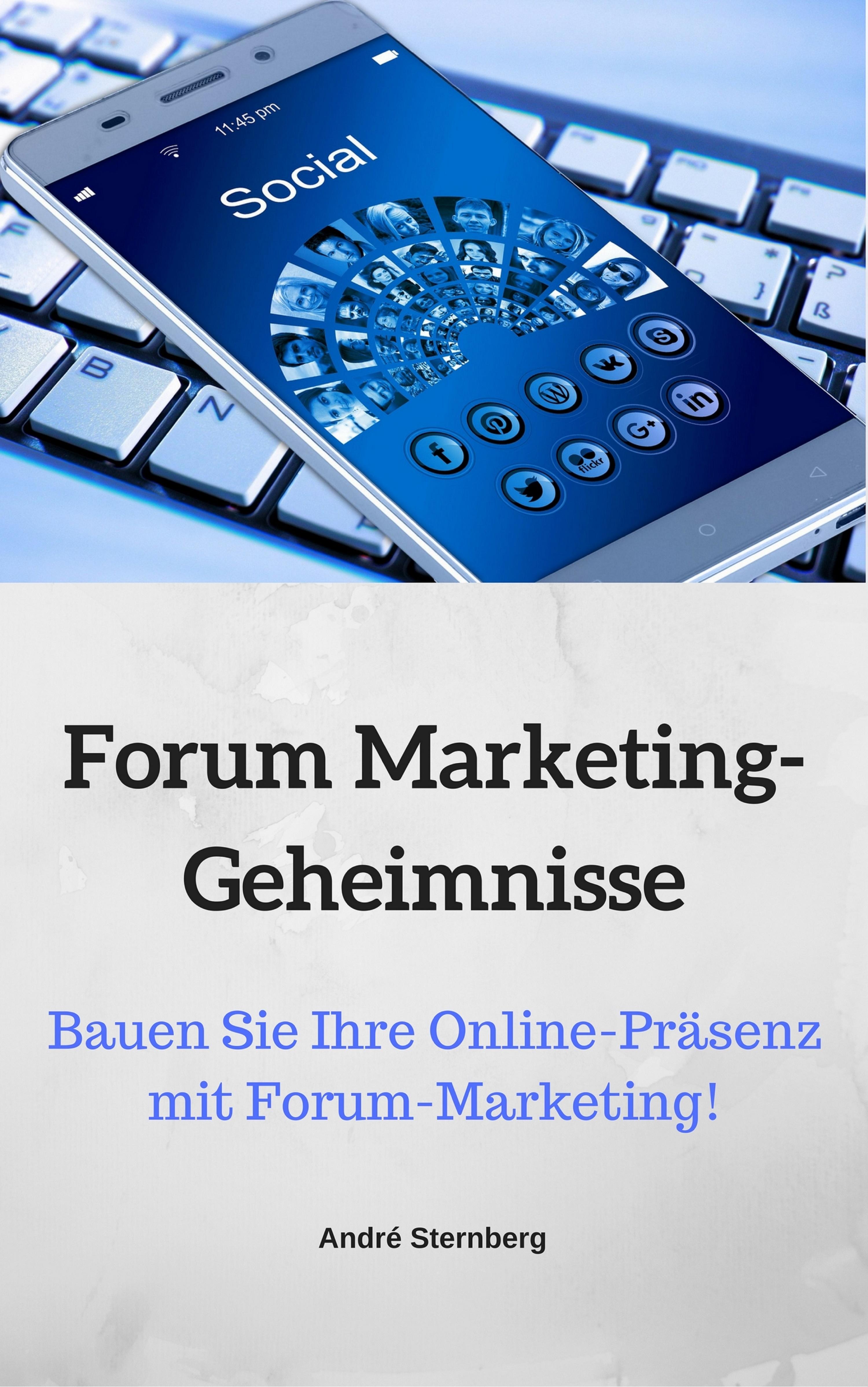 André Sternberg Forum Marketing-Geheimnisse forum