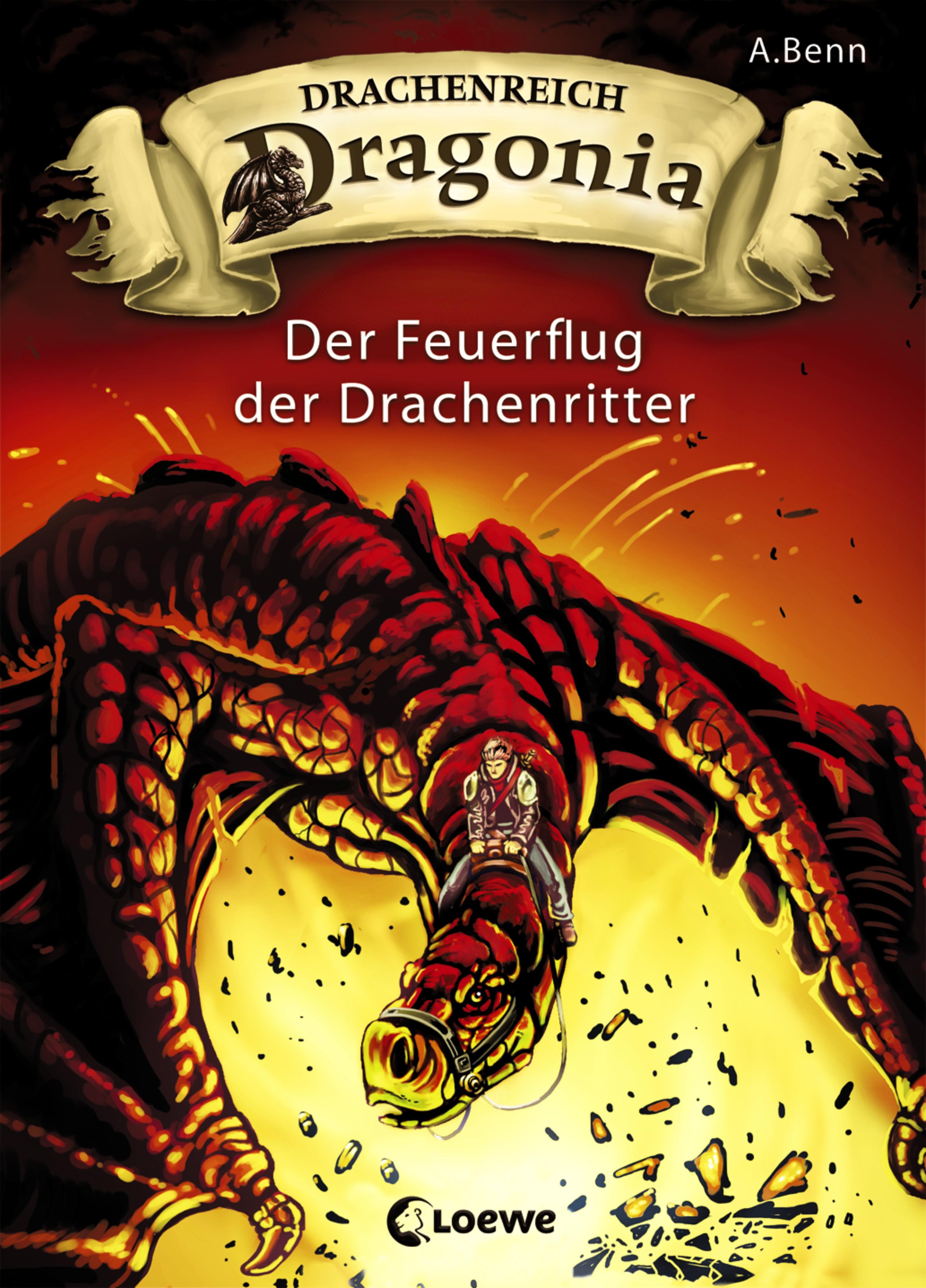 A. Benn Drachenreich Dragonia 2 - Der Feuerflug der Drachenritter a durer albrecht durers unterweisung der messung