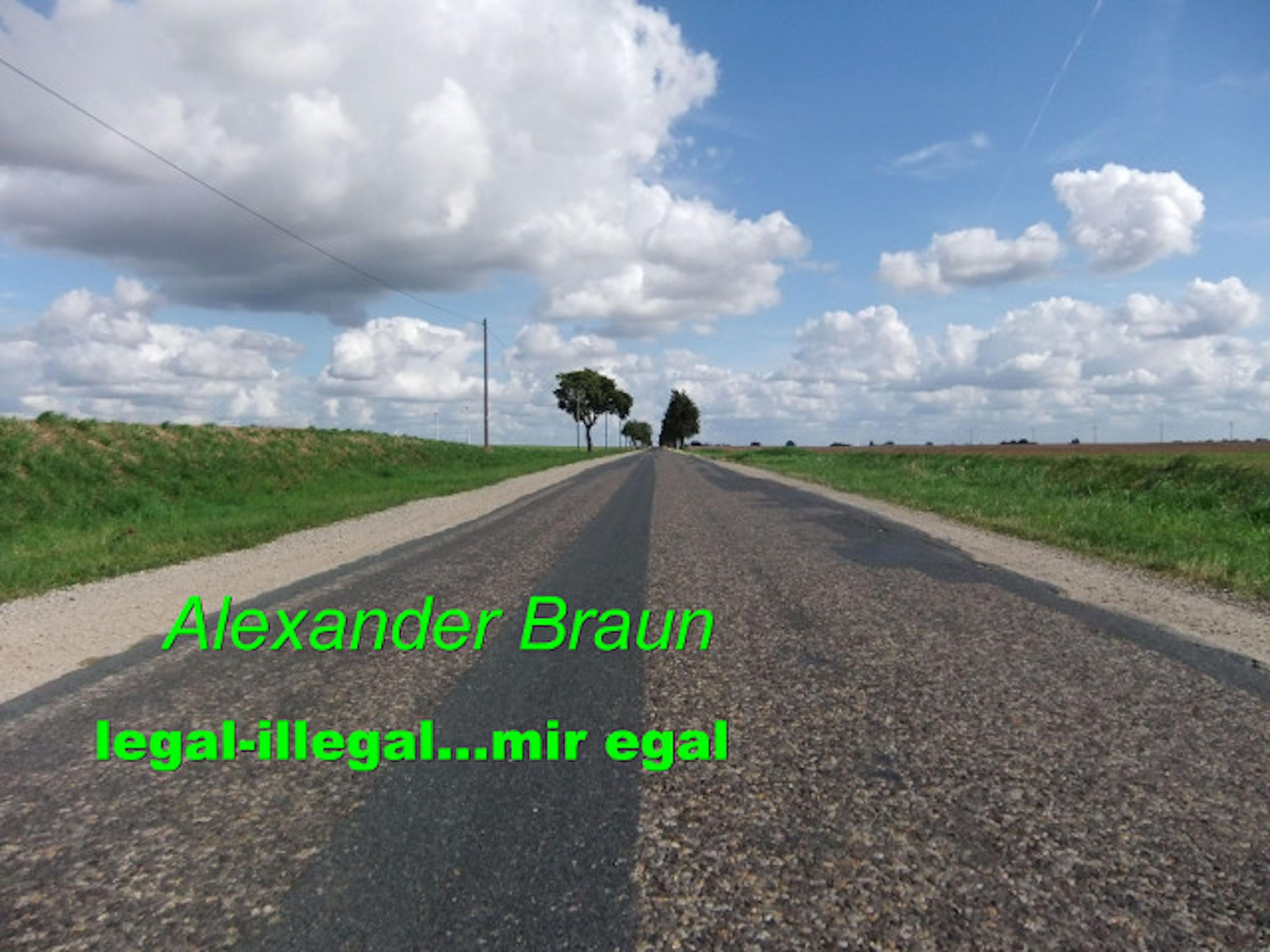 Alexander Braun Legal - illegal... Mir egal alexander nevzorov mir wurde das recht genommen staatsbanditentum