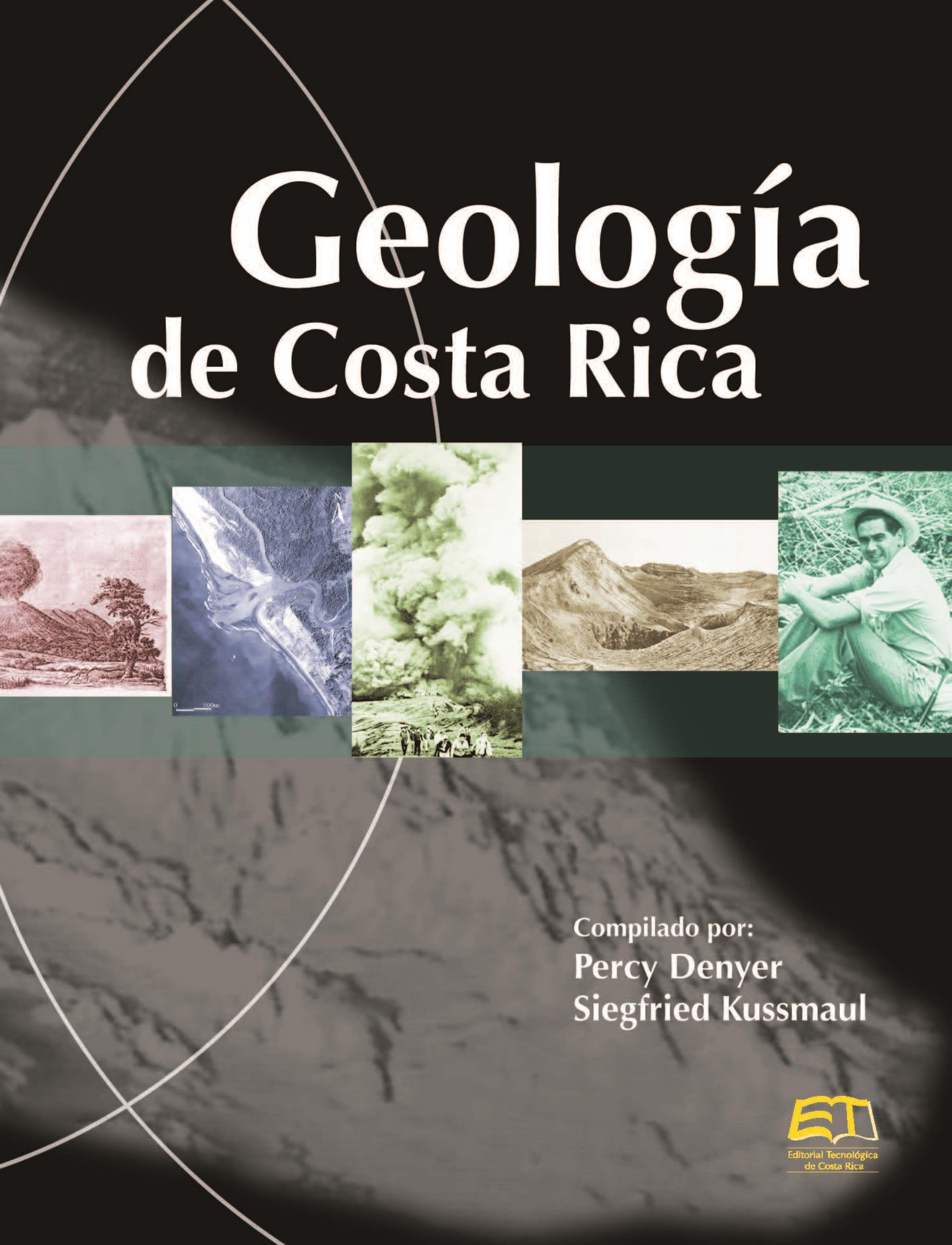 Percy Denyer Geología de Costa Rica costa rica