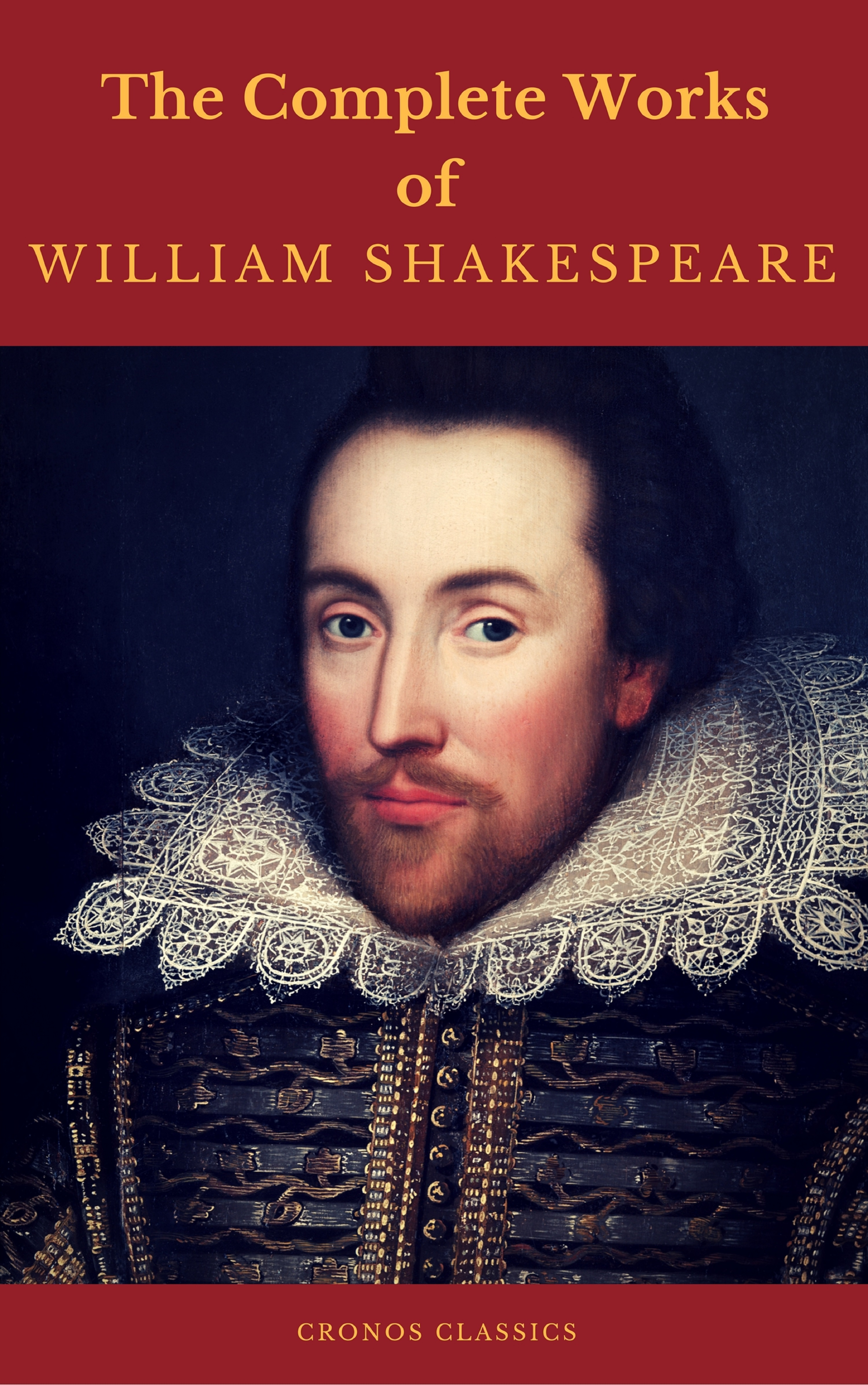 the complete works of william shakespeare cronos classics