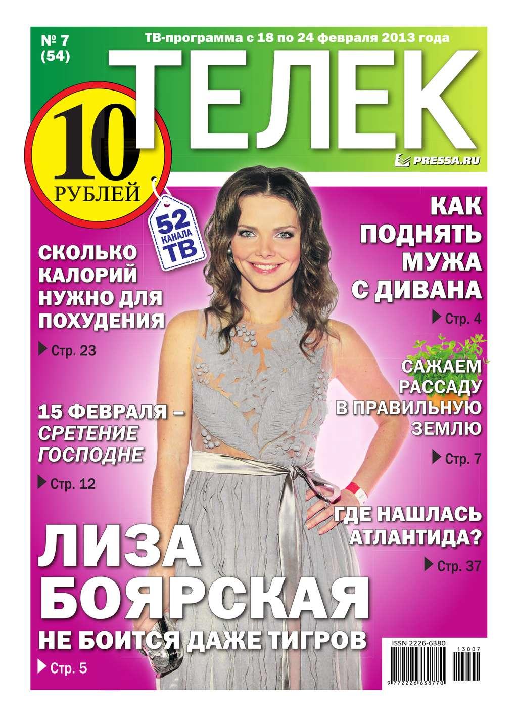 цена на Редакция газеты Телек Pressa.ru Телек 07-2013