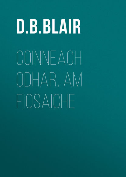 D. B. Blair Coinneach Odhar, Am Fiosaiche
